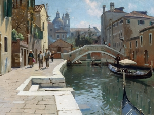 Monsted Canal In Venice