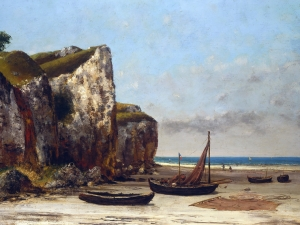 Courbet Plage De Normandie