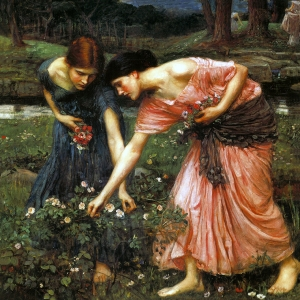 Waterhouse Gather The Rosebuds While Ye May