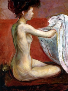 Edvard Munch Akt Paris Nude