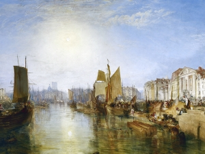 Turner The Harbor Of Dieppe