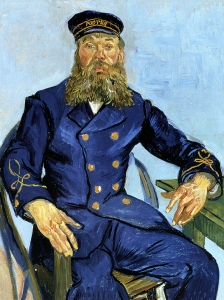 Van Gogh Portrait Of The Postman Joseph Roulin