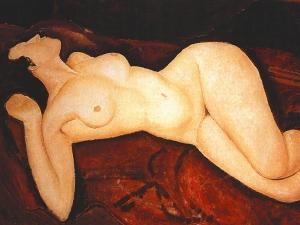 Modigliani Akt Nude Lying On The Back