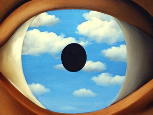 Magritte The False Mirror