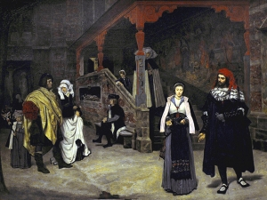 Tissot The Meeting Of Faust