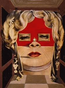 Dali Mae West's Face Which May Be Used As A Surrealist Apartament
