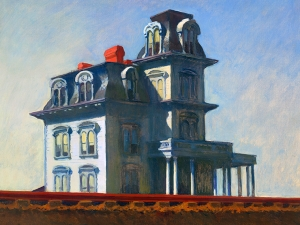 Hopper House By The Railroad