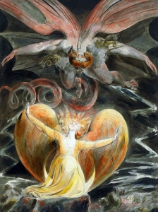 Blake The Great Red Dragon And The Woman Clothed With The Sun