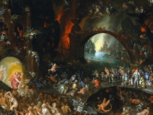 Bruegel Christ In Limbo