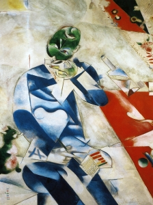 Marc Chagall Half Past Three