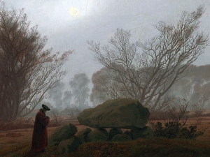 Friedrich A Walk At Dusk