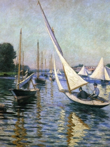 Caillebotte Regatta At Argenteuil