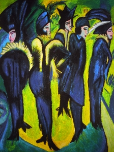Kirchner  Woman In The Street