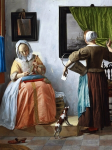 Vermeer Woman Reading A Lette