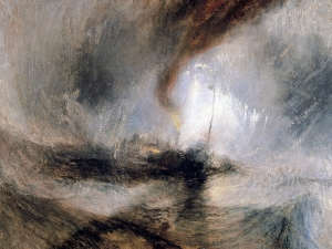 Turner  Snow Storm Steam Boat Off A Harbours Mouth