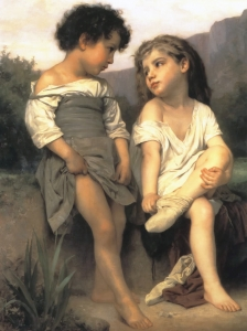 Bouguereau Edge The Brook