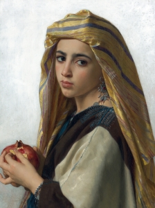 Bouguereau Girl With A Pomegranate