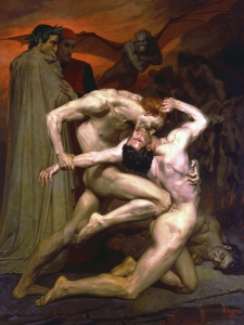 Bouguereau Dante And Virgin In Hell