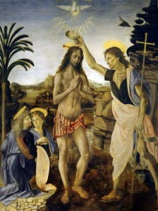 Da Vinci Baptism Of Christ