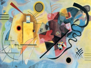 Kandinsky Yellow Red Blue II