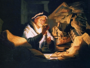 Rembrandt The Money Changer