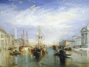 Turner  The Grand Canal Venice