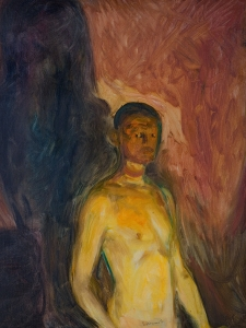 Edvard Munch Self Portrait in Hell