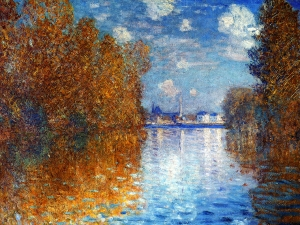 Monet Autumn Effect Argenteuil