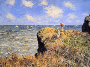 Monet Cliff Walk At Pourville