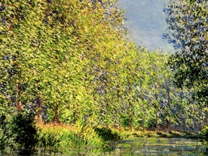 Monet  A Bend Of The Epte Giverny
