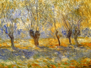 Monet Wierzby Giverne