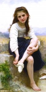 Bouguereau Before The Bath