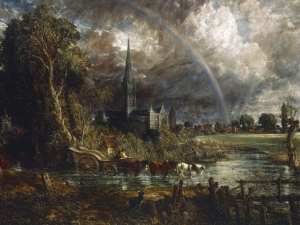 Constable Salisbury Cathedral From The Me